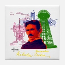 Tesla Tile Coaster