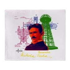 Tesla Throw Blanket