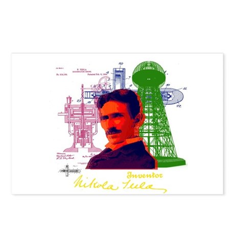 Tesla Postcards (Package of 8)