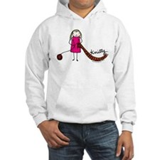 Tania Howells for Knitty Hooded Sweatshirt