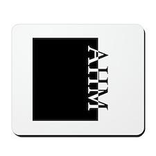AHM Typography Mousepad