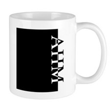AHM Typography Small Mug