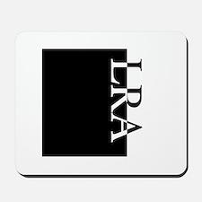 LRA Typography Mousepad