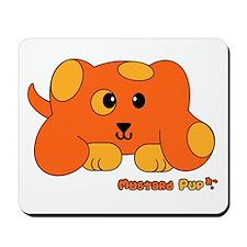 Mustard Pup Pudgie Pet Mousepad