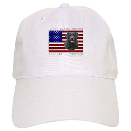 Patriotic Labrador Retriever Cap