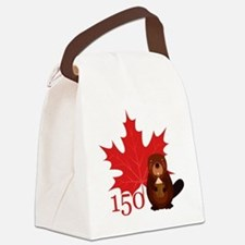Cool Canada Canvas Lunch Bag