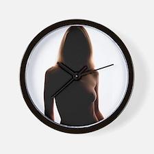 Ceci N'est Pas Mon Coeur Wall Clock
