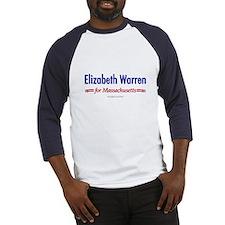 """""""Elizabeth Warren for MA"""" Baseball Jerse"""