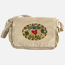 Fenian Heart Messenger Bag