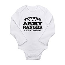 Future Army Ranger Long Sleeve Infant Bodysuit
