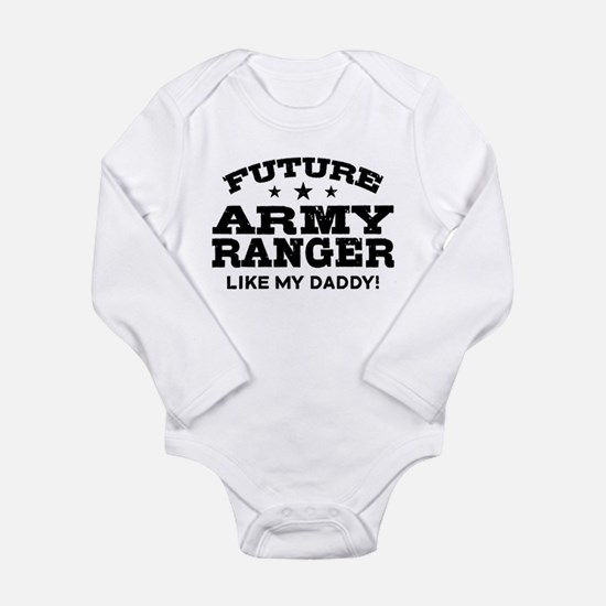 Future Army Ranger Long Sleeve Infant Bodysuit