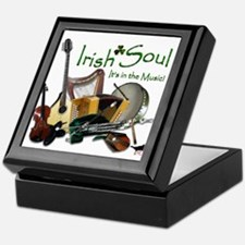 Irish Soul Music Keepsake Box