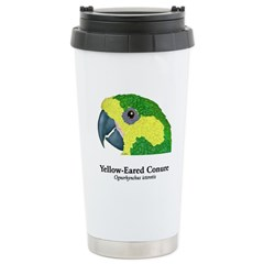 Yellow-Eared Conure Travel Mug
