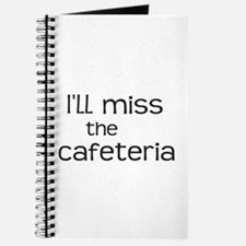 I'll miss the Cafeteria Journal