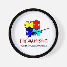 Autistic Wall Clock