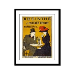Absinthe by Cappiello Framed Panel Print