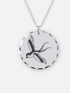 Sparrow Tat Necklace