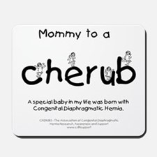 Mommy to a Cherub Mousepad