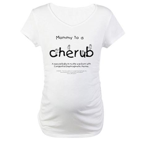 Mommy to a Cherub Maternity T-Shirt
