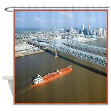 The Big Muddy Shower Curtain