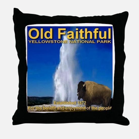 Cute Nps Throw Pillow