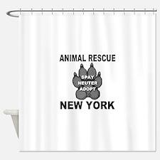 Unique Rescued horse Shower Curtain