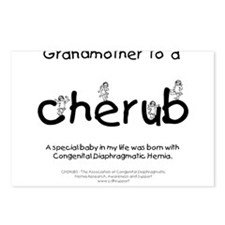 Grandmother to a Cherub Postcards (Package of 8)