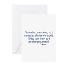 Rumi Greeting Cards (Pk of 10)