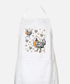 Retro Chicken Shirt Apron