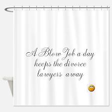 Blow Jobs Shower Curtains | Blow Jobs Fabric Shower Curtain Liner