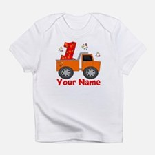 1st Birthday Dump Truck Infant T-Shirt