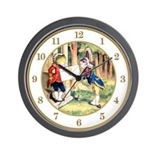An Invitation From The Queen Wall Clock