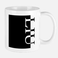 LIU Typography Mug