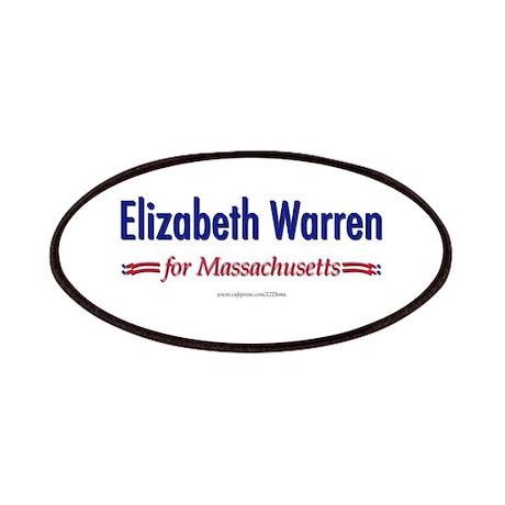 """Elizabeth Warren for MA"" Patches"