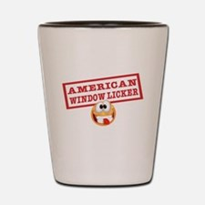 American Window Licker Shot Glass