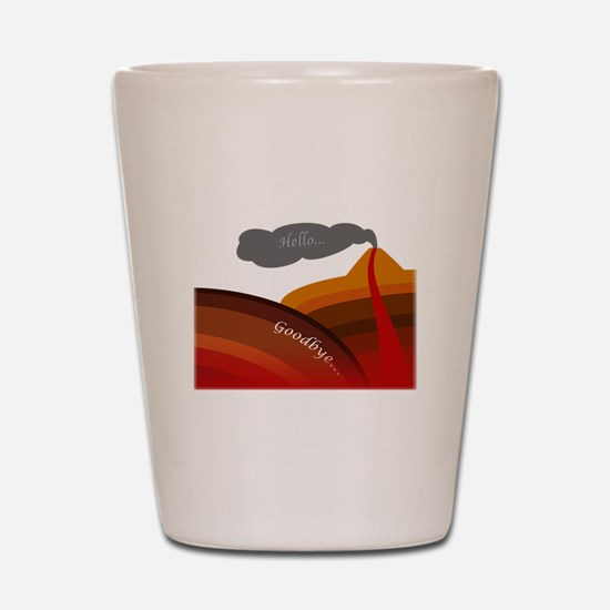 Life of Subduction Shot Glass