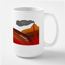 Life of Subduction Large Mug