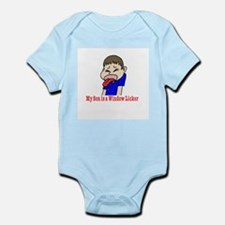 My Son is a Wndow Licker Infant Bodysuit