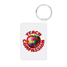 Teach Compassion Keychains