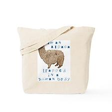 I'm an Alpaca Tote Bag