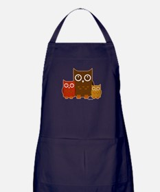 Cute Owls Apron (dark)