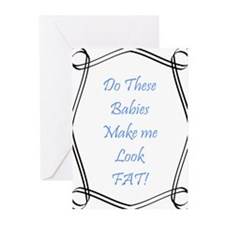 Do these babies...boys Greeting Cards (Pk of 20)