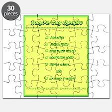 Transfer Day Checklist Puzzle