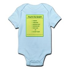 Transfer Day Checklist Infant Bodysuit