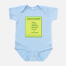 Transfer Day Checklist Infant Bodysuit