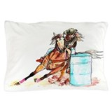 Barrel racing Pillow Cases