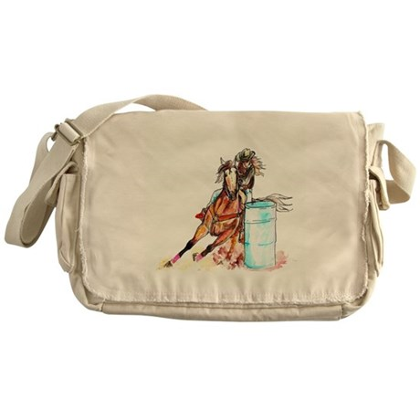 Barrel Racer Messenger Bag