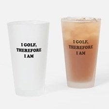 Unique Golfing Drinking Glass