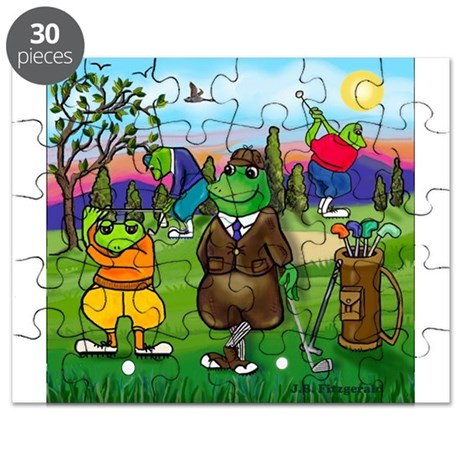 Golfing frogs Puzzle
