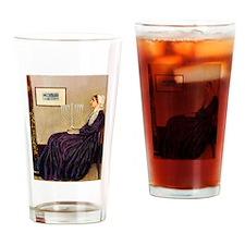 Mom's Hanukka Menorah Drinking Glass